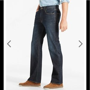 Lucky Brand Jeans - NWT Men's Lucky Brand 181 relaxed straight Jean